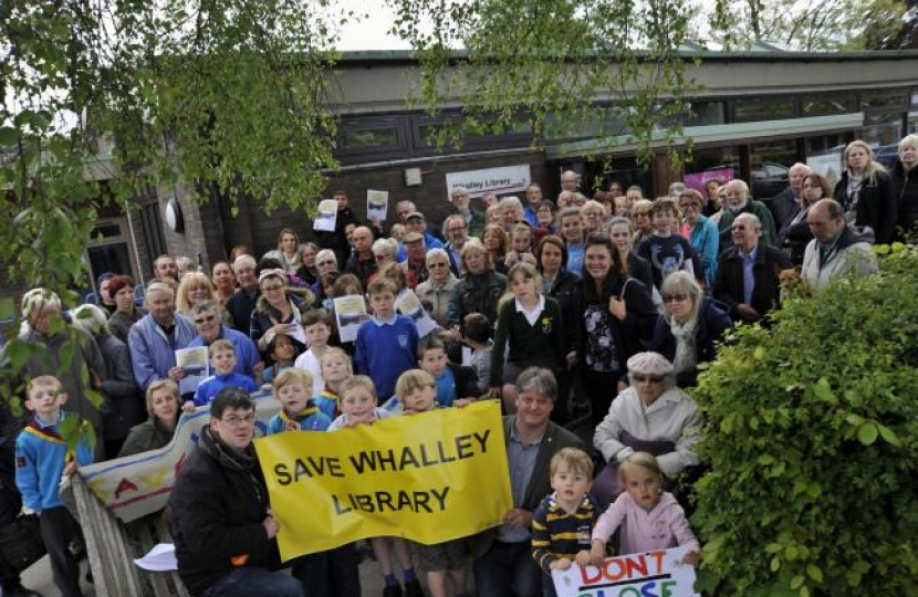 Save Whalley Library
