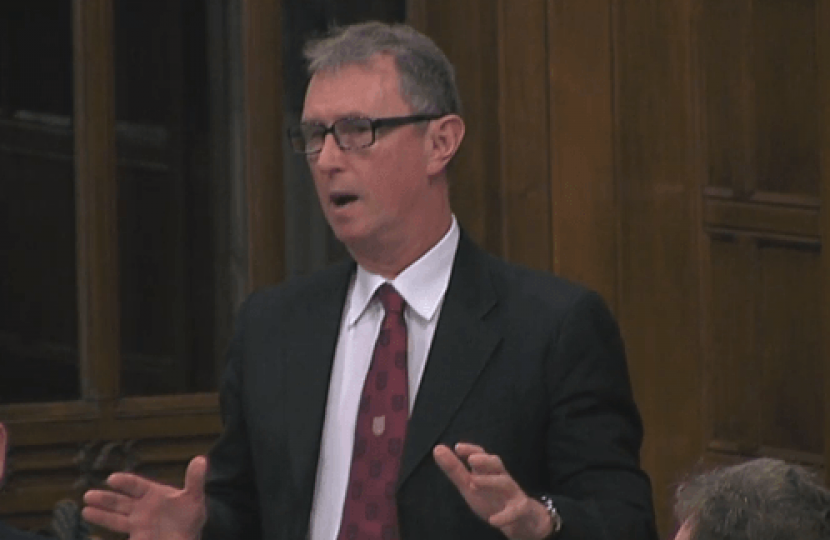 Nigel spoke in the Westminster Hall Debate